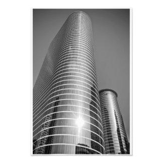 Rascacielos de Houston en blanco y negro Fotografías