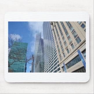 Rascacielos de Manhattan Alfombrillas De Ratón