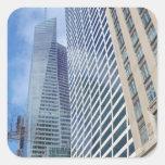 Rascacielos de Manhattan Colcomanias Cuadradases