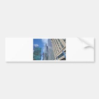 Rascacielos de Manhattan Pegatina Para Auto