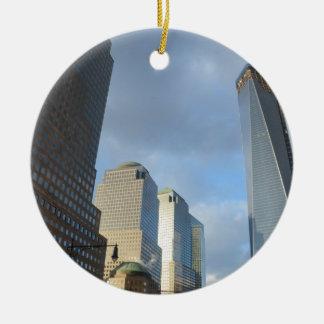 Rascacielos de Nueva York Ornamentos De Reyes Magos