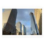Rascacielos de Nueva York Postal