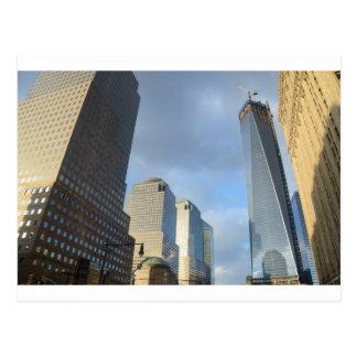 Rascacielos de Nueva York Postales