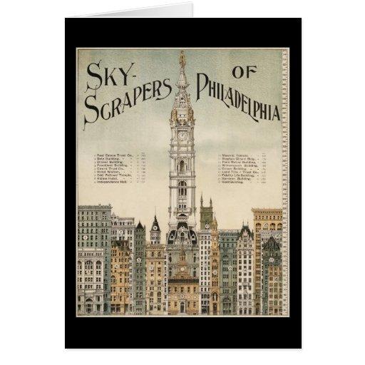 Rascacielos de Philadelphia Felicitaciones
