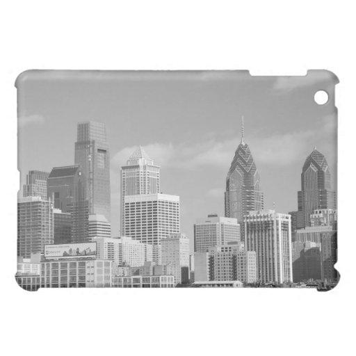 Rascacielos de Philly blancos y negros