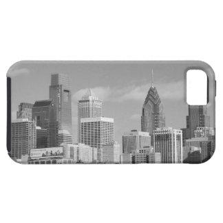 Rascacielos de Philly blancos y negros iPhone 5 Carcasa