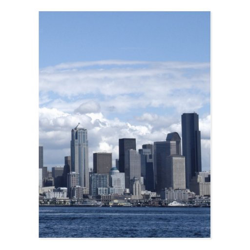 Rascacielos de Seattle Washington Postal