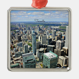 Rascacielos de Toronto - Toronto, Ontario, Canadá Ornamento Para Reyes Magos