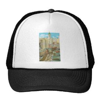Rascacielos del Lower Manhattan Nueva York Gorro De Camionero