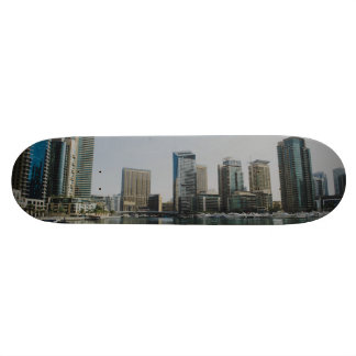 "Rascacielos del puerto deportivo de Dubai Patineta 7 1/4"""