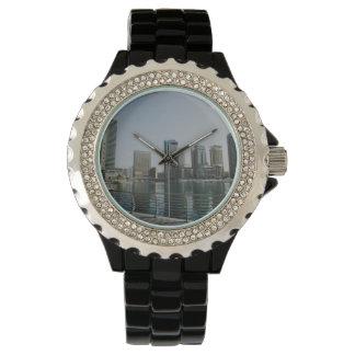 Rascacielos del puerto deportivo de Dubai Relojes De Mano