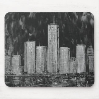 Rascacielos Mousepad de Nueva York