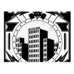 Rascacielos (PARA la CAMISETA NEGRA) Tarjetas Postales