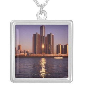 Rascacielos por el agua en Detroit 2 Grimpola Personalizada