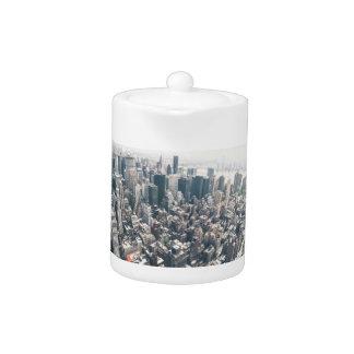 Rascacielos y tejados de New York City