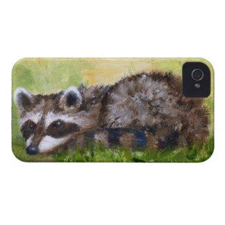 Rascal aceo Raccoon BlackBerry Bold Case