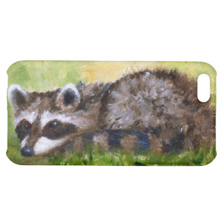 Rascal aceo Raccoon IPhone4 Case Case For iPhone 5C