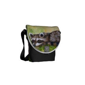 Rascal aceo Raccoon Mini Messenger Bag