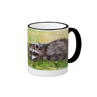 Rascal aceo Raccoon Mug