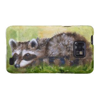 Rascal aceo Raccoon Samsung Galaxy Case Samsung Galaxy S2 Cases