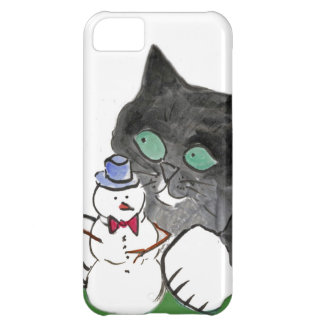Rascal Leave the Snowman Alone iPhone 5C Cases