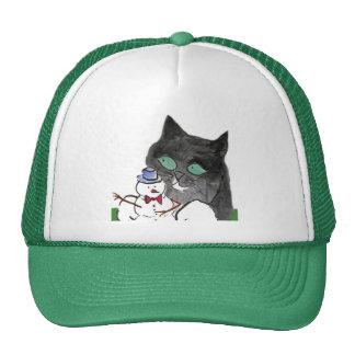 Rascal, Leave the Snowman Alone Trucker Hat