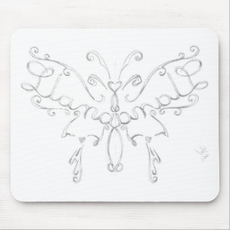 Rascal Nistas Butterfly Mouse Pad