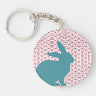 Rascal Rabbit Keychain