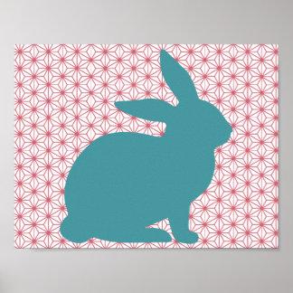 Rascal Rabbit Poster