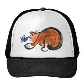 Rascally Fluttering Thing & the Cat Mesh Hats