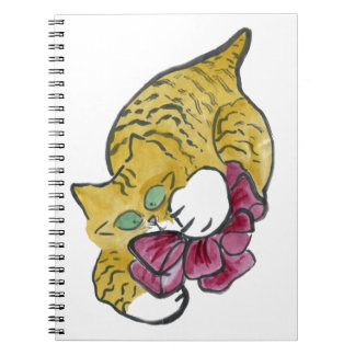 Rascally Red Bow Notebook
