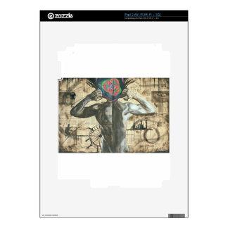 Rasgado de las ilusiones skins para iPad 2