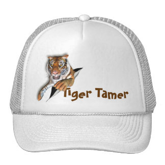 Rasgadura de diseño del tigre gorra
