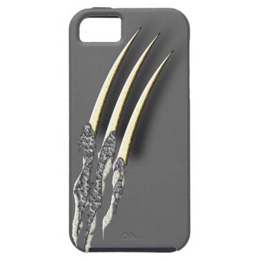 Rasgadura de garras iPhone 5 carcasas