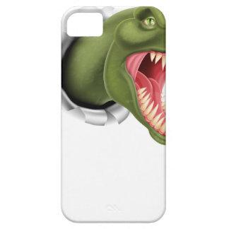 Rasgadura de las garras del dinosaurio de T Rex iPhone 5 Funda