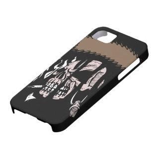 Rasgadura del cráneo iPhone 5 fundas