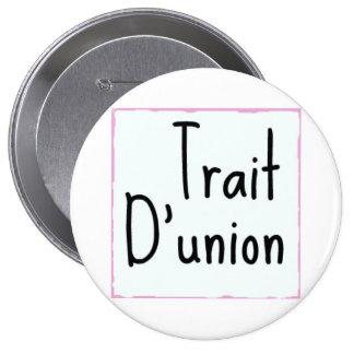 Rasgo D'union - botón clásico Pins