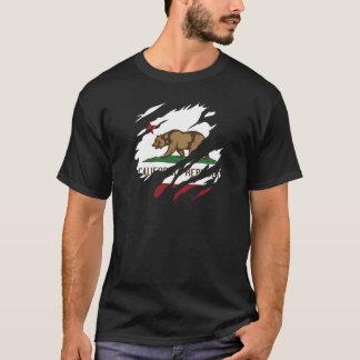 Rasgón 3 de la república de California Playera