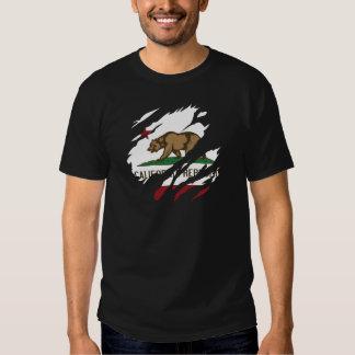 Rasgón 3 de la república de California Poleras