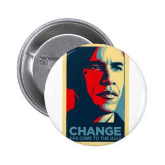 Rasgón del descenso del aceite de Obama Pin
