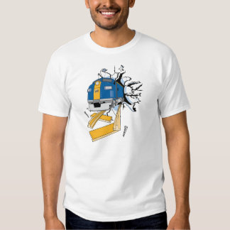 Rasgón del tren camisas
