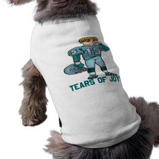 Rasgones de la alegría camiseta de mascota