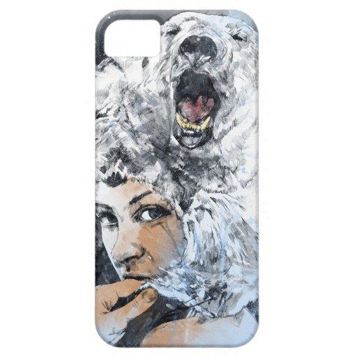 Rasgones del ártico funda para iPhone SE/5/5s