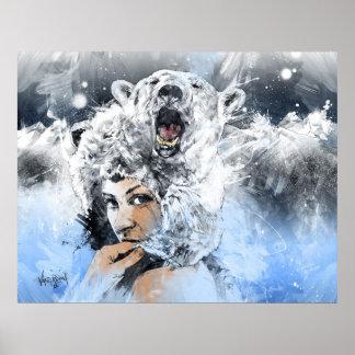 Rasgones del ártico póster