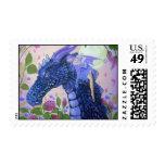 rasgones del dragón por Lorri Karels Timbre Postal