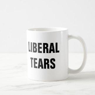 Rasgones liberales taza de café