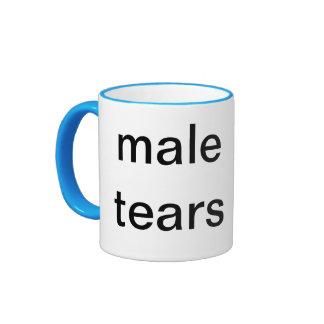 rasgones masculinos taza