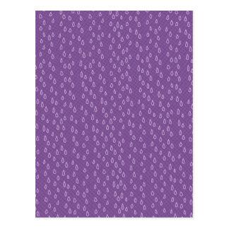 Rasgones púrpuras postal