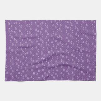 Rasgones púrpuras toallas de cocina