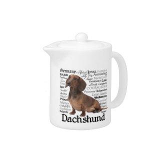 Rasgos de la raza del Dachshund